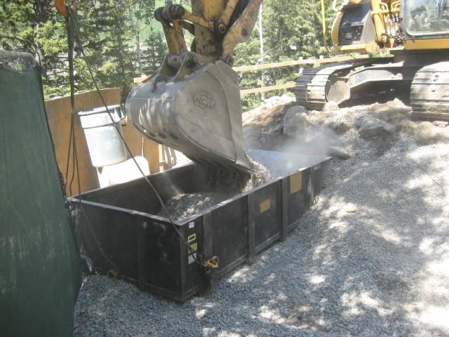 gravel bucket